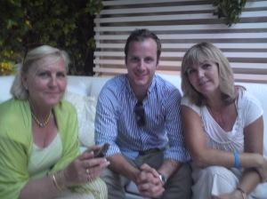 Ewa, Christian och Pia