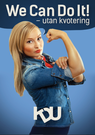 We can do it - utan kvotering